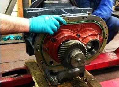 Compressor overhauls